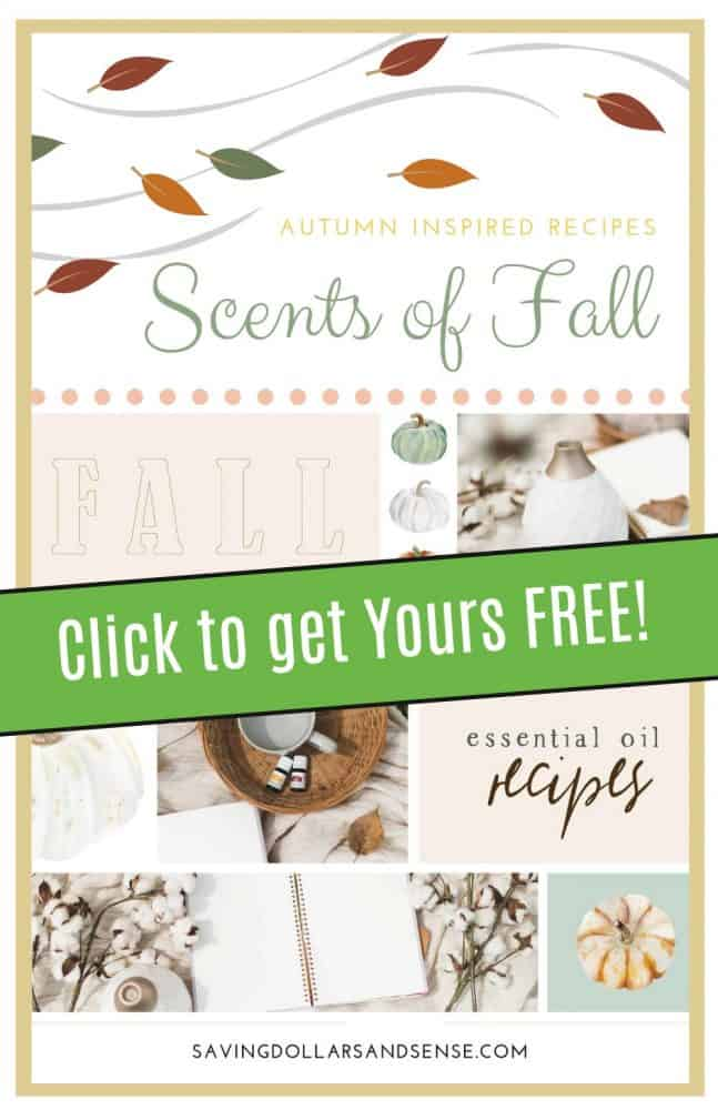 FREE Fall Diffuser Recipes Book