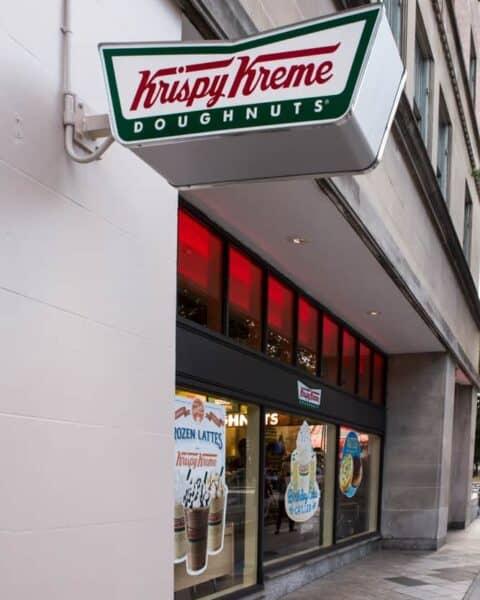 Krispy Kreme donuts store