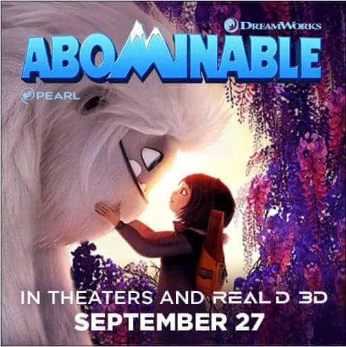 Abominable Family Four Pack Giveaway