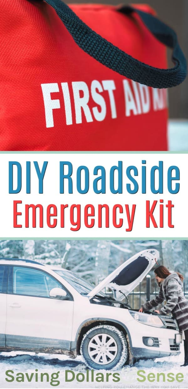 Car Emergency Must Haves. DIY roadside emergency kit.