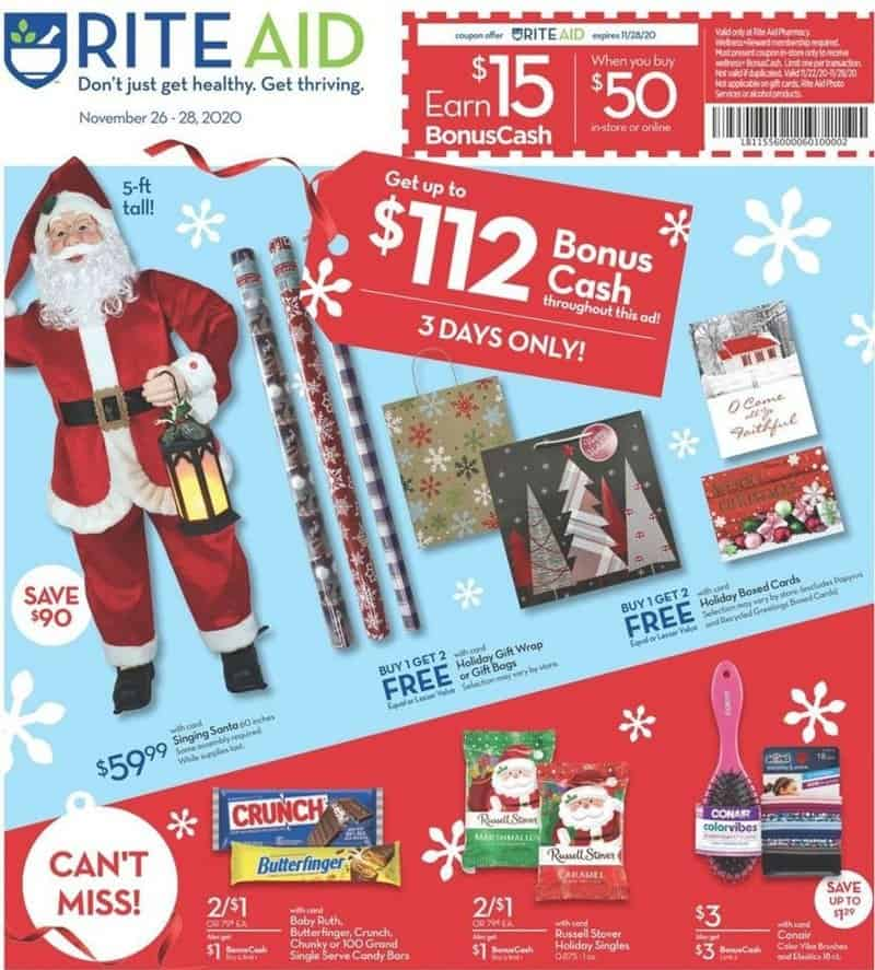 Rite Aid Black Friday Ad Scan