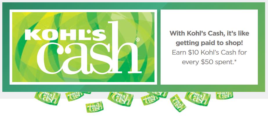 kohls cash program