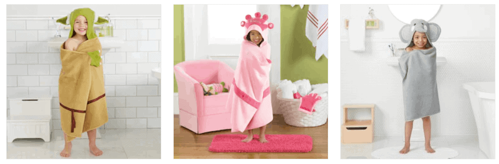 Kids hooded towels on sale.