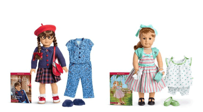 American girl doll and book on sale.