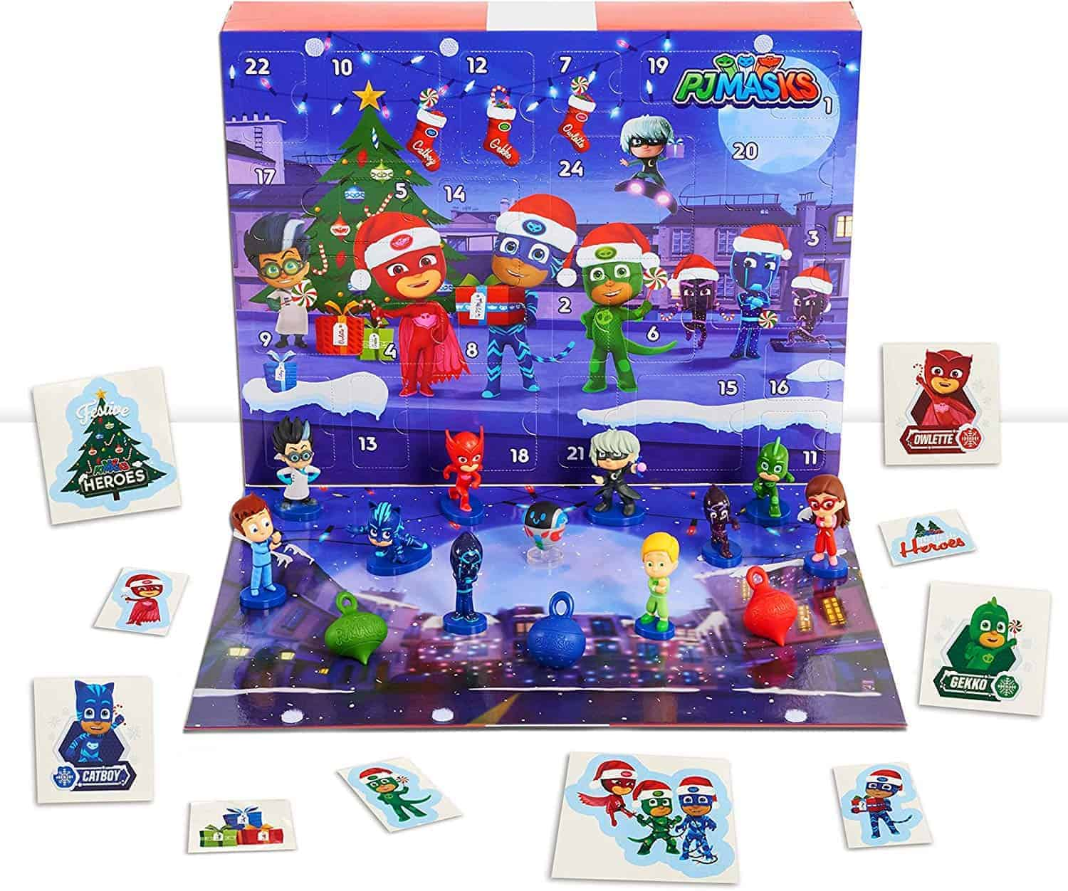 PJ Masks advent calendar.