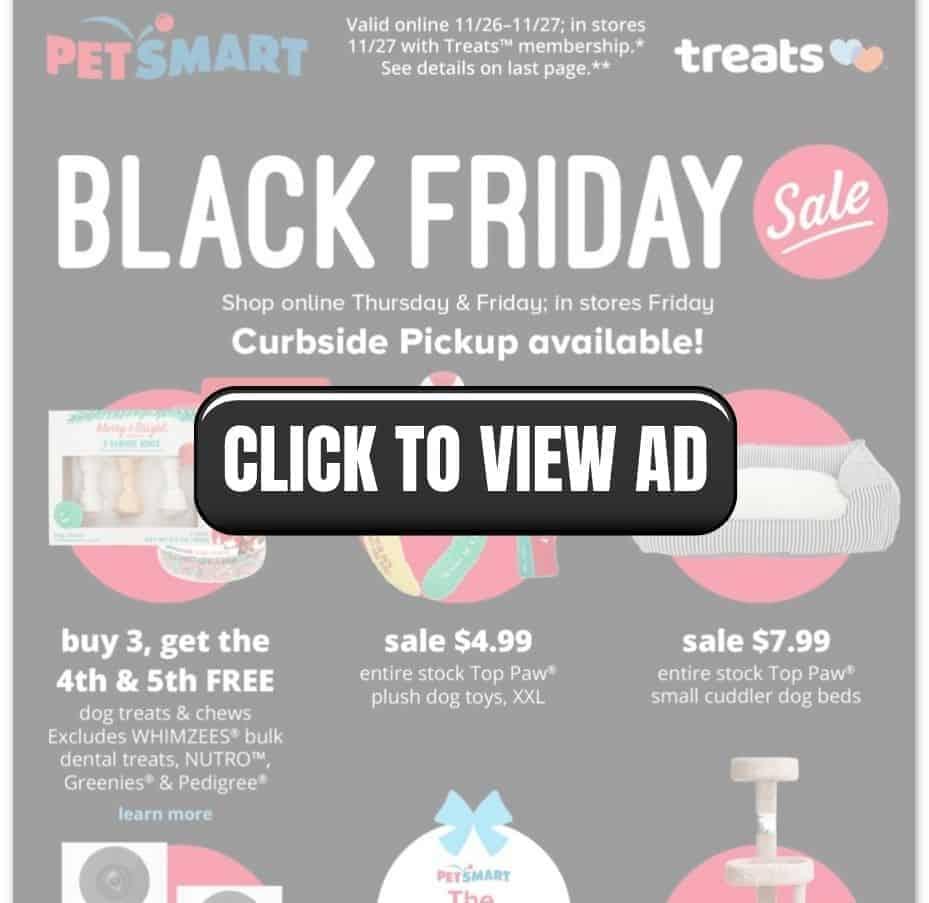 PetSmart Black Friday Sales