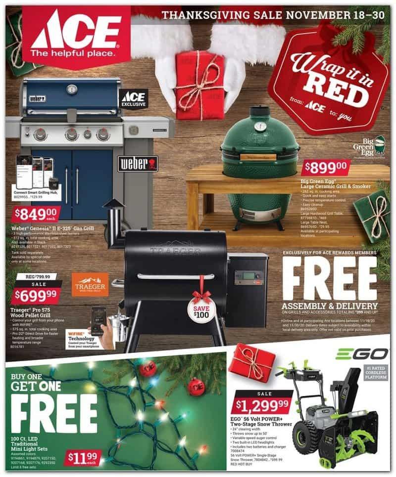 Ace Black Friday Sales ads