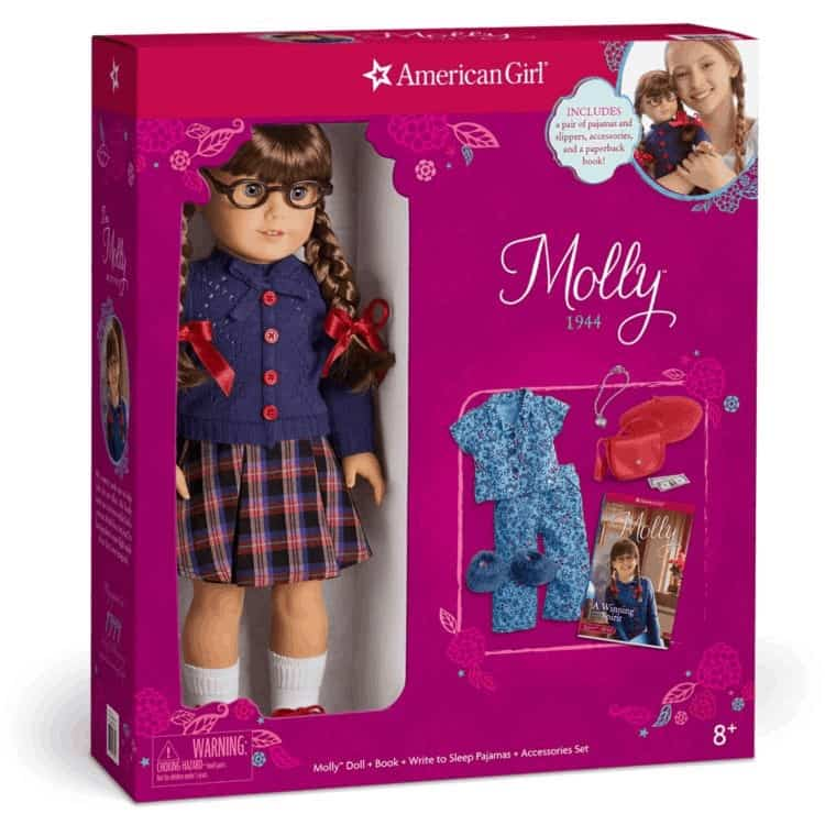 American Girl Molly in a box