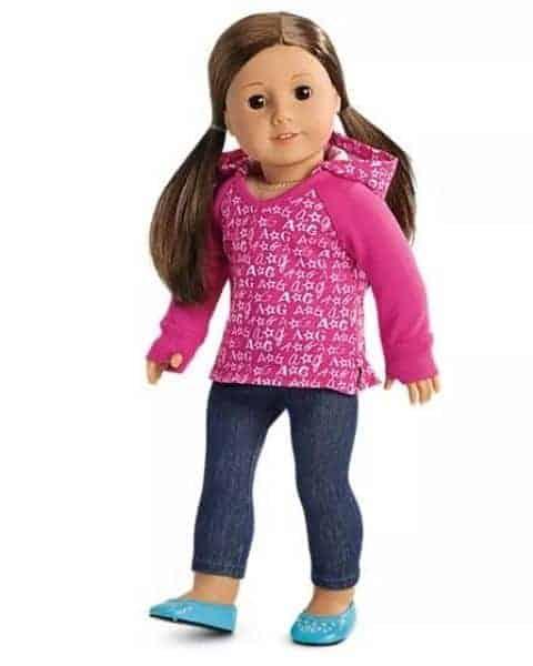 American girl doll.