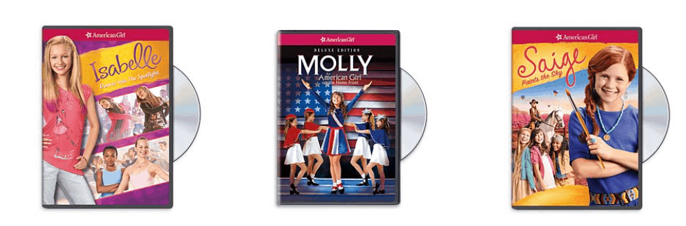 American Girl DVD about Molly.