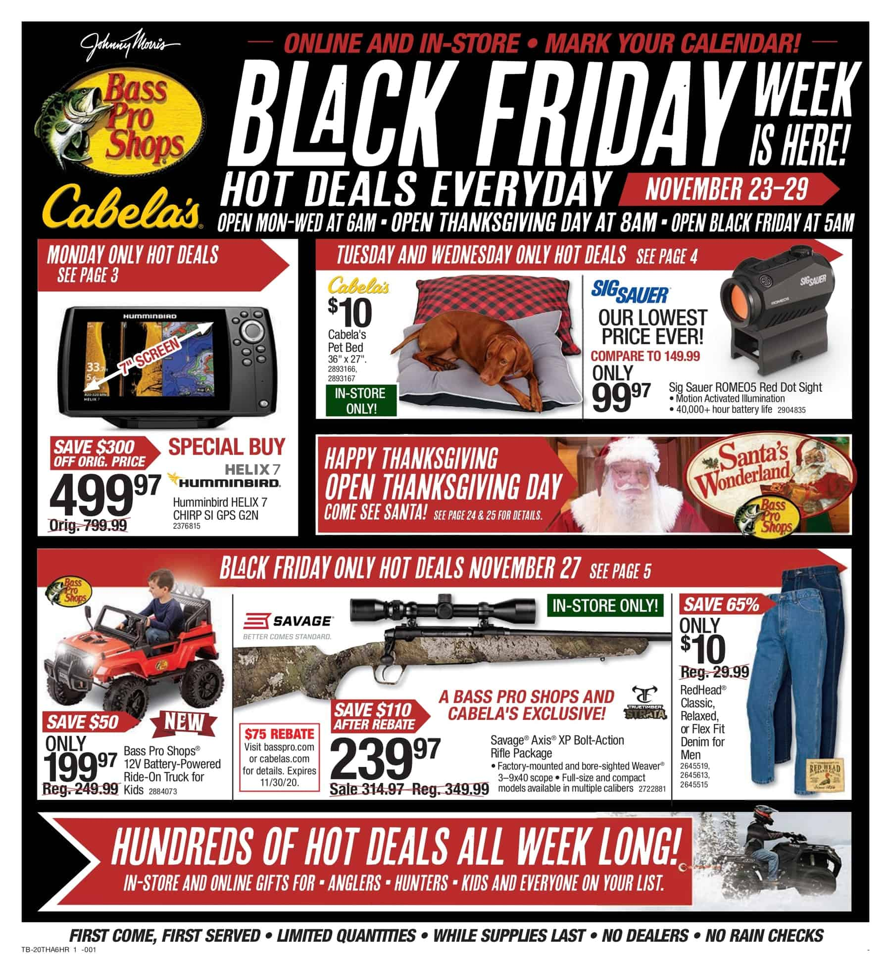 bass pro shop black friday ad scan