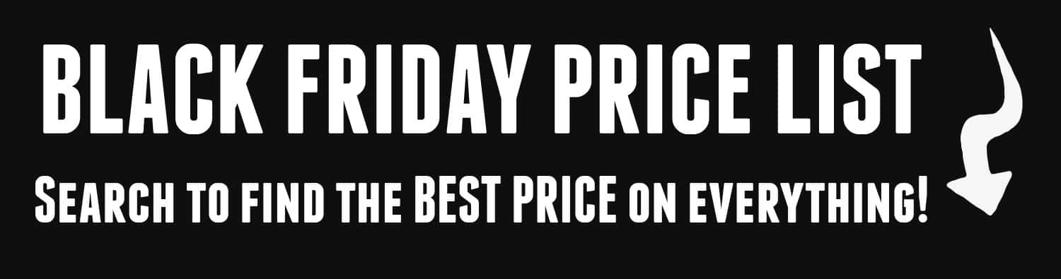 black friday prices