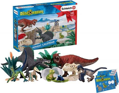 Collection of dinosaur toys on sale for Black Friday.