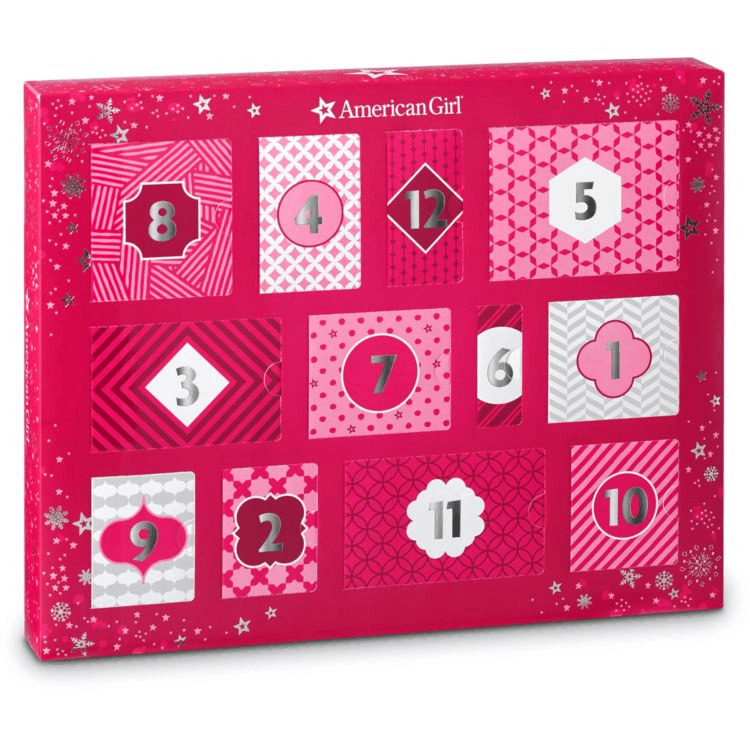 American girl advent calendar.
