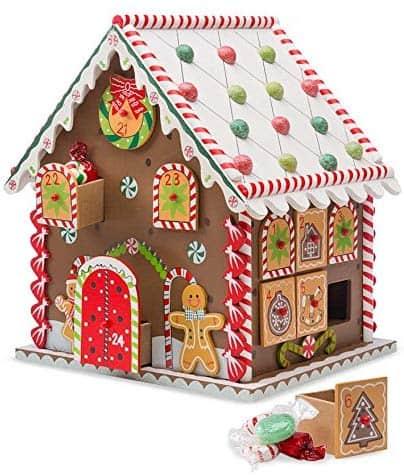 Gingerbread advent calendar.