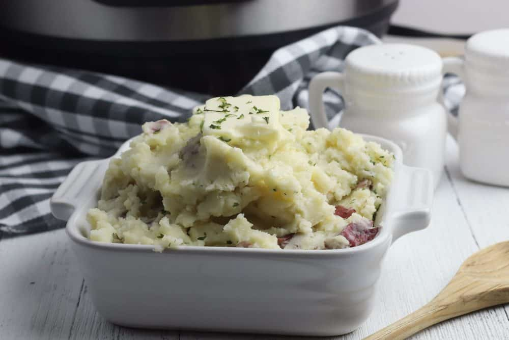 instant pot mashed potatoes with skin