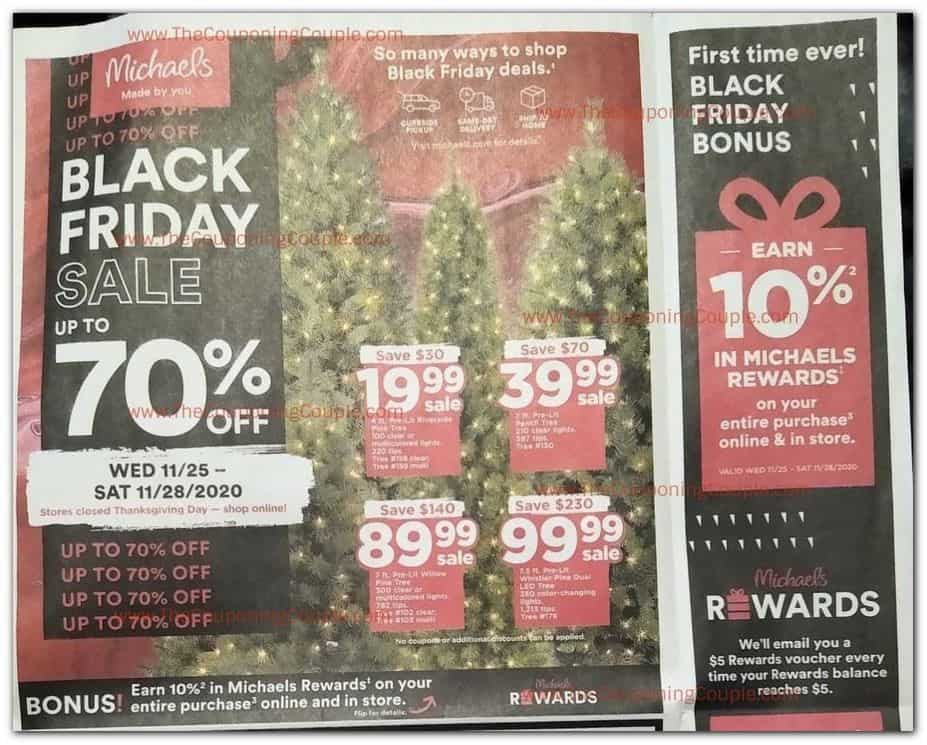Michael's Black Friday Sale ad
