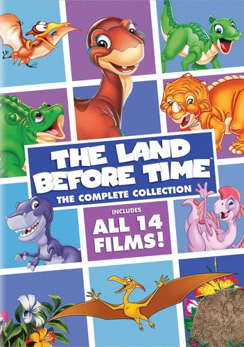 The Land Before Time complete collection of all 14 films.