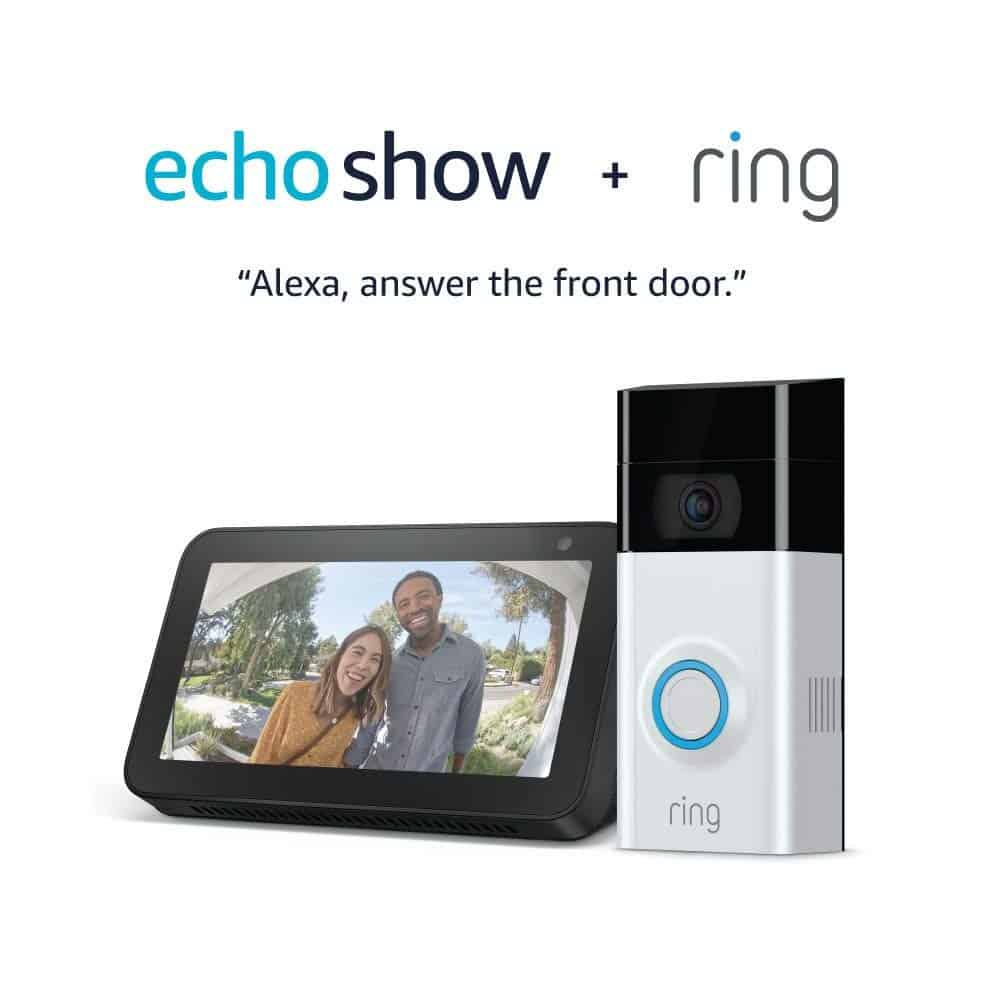 Echo show plus ring.
