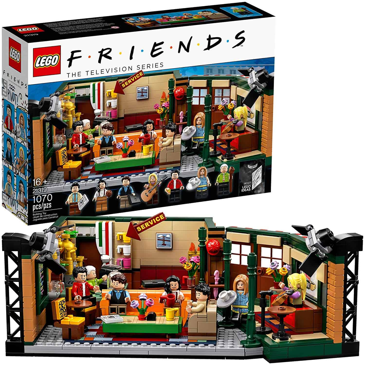LEGO Friends coffee house set.