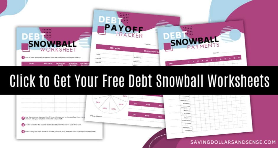 debt snowball spreadsheet