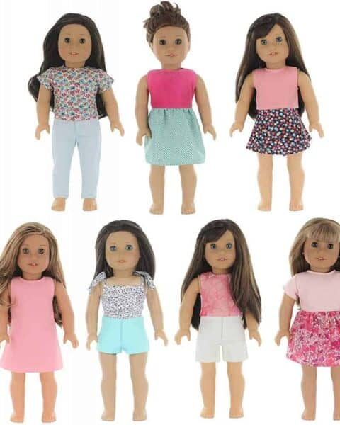 American Girl doll outfits on sale for this low price.