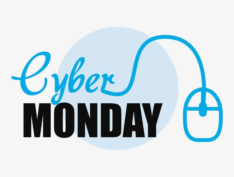 Cyber Monday sales and coupon codes.