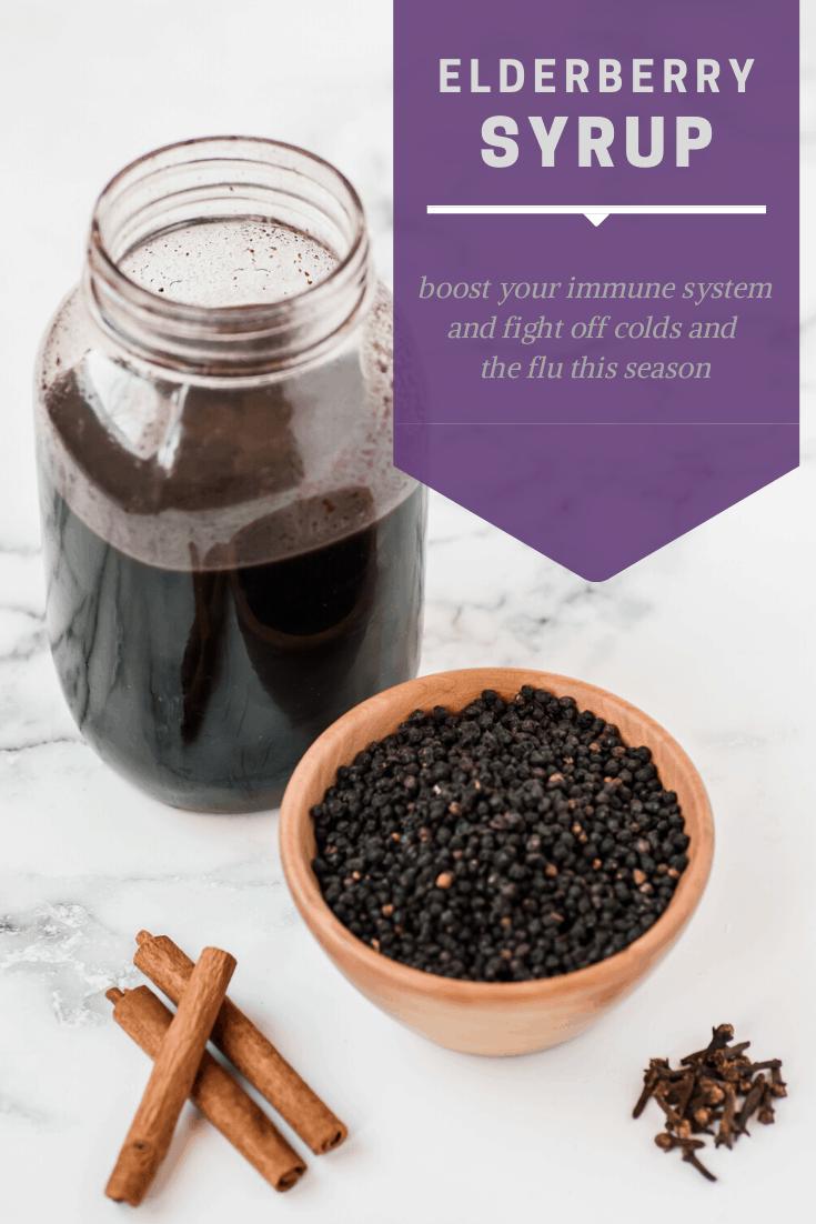 Best Elderberry Syrup Recipe