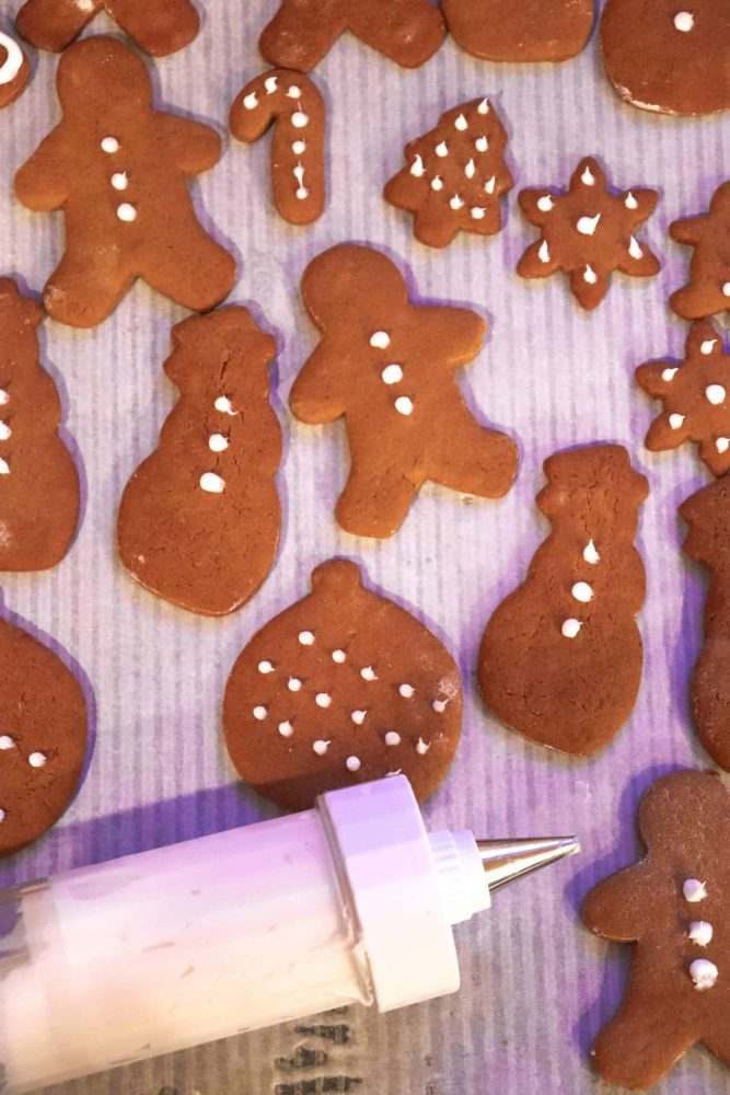 ginger snaps recipe with icing
