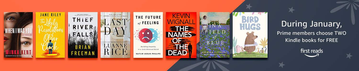 Books people can read with Kindle First Reads FREE