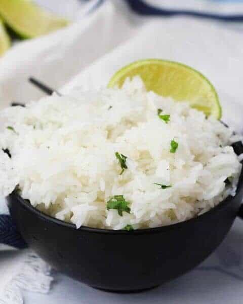 chipotle lime rice