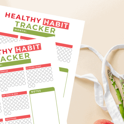 habit tracker printable