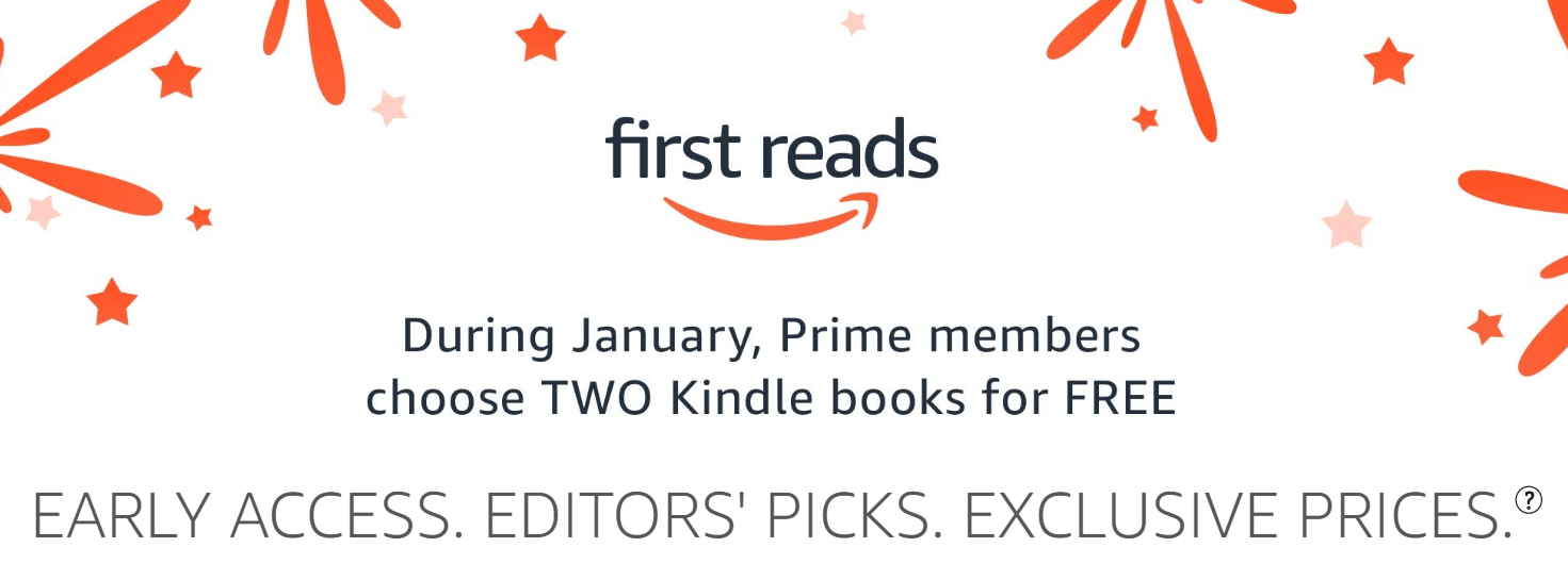 Get Two Kindle First Reads FREE