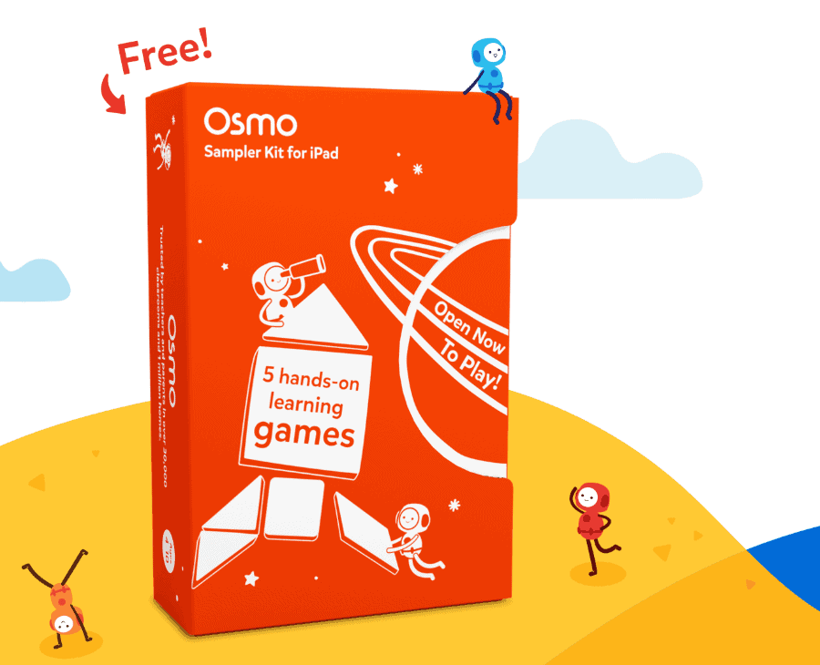 Get 5 Osmo Games FREE