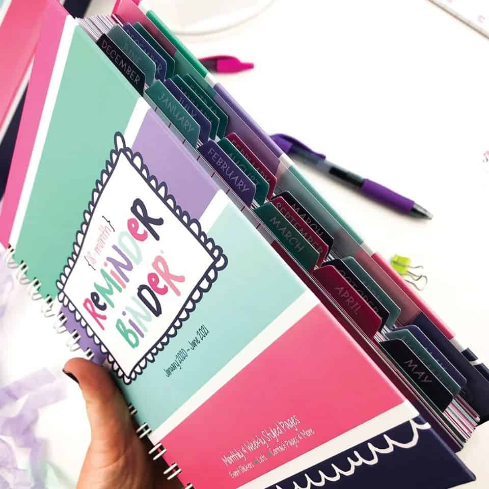 Power Planner Reminder Binder Sale