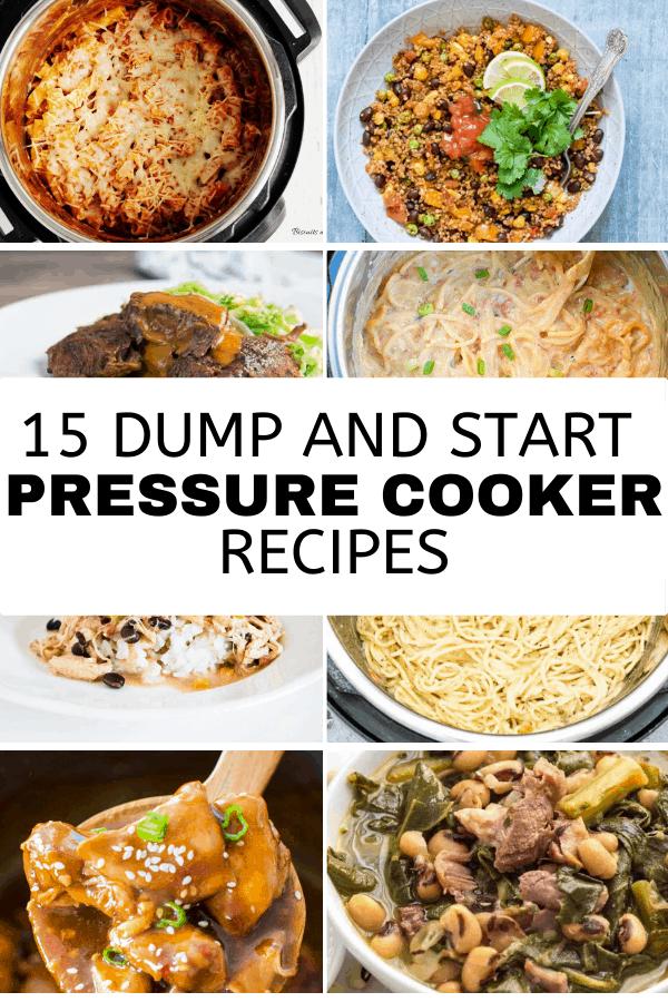 Easy Instant Pot Dump and Go Recipes