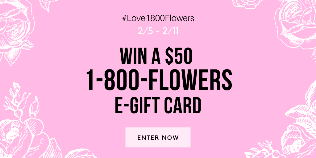 Flower giveaway.