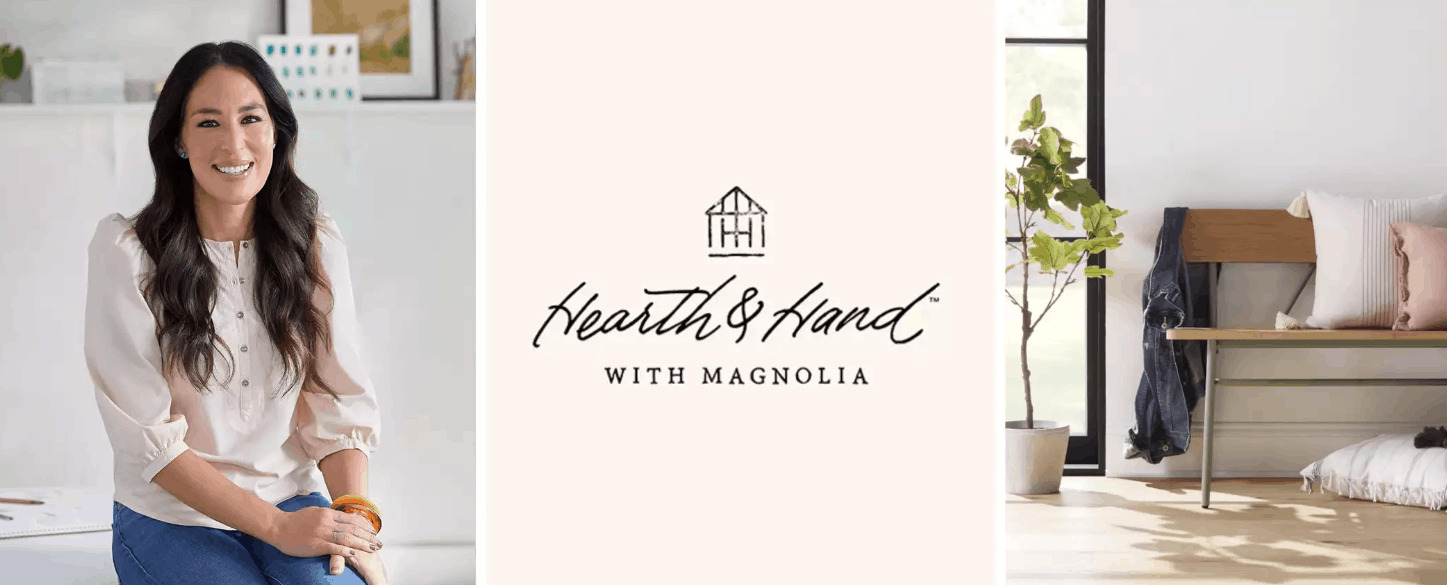 Hearth and Hand with Magnolia logo.