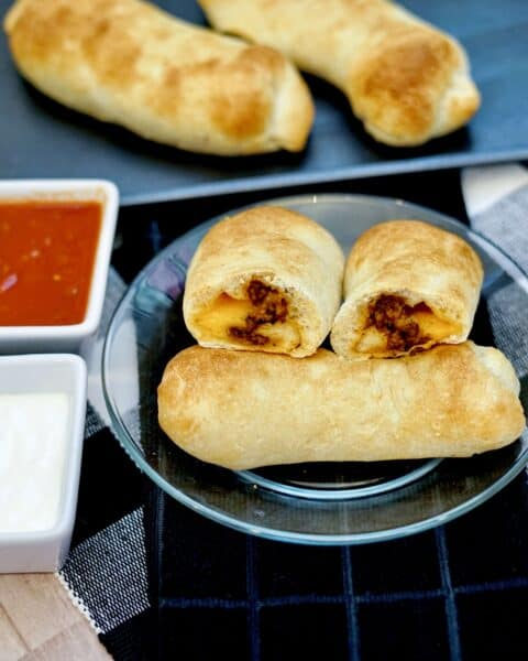delicious taco roll ups