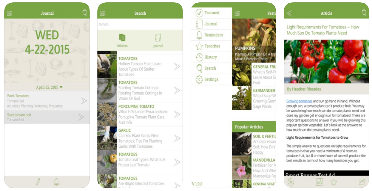 Gardening companion is a Gardening Apps for gardeners.