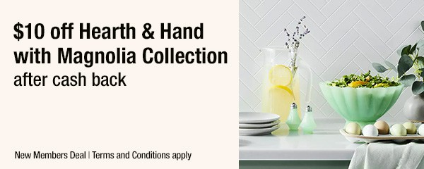 Hearth and Hand with Magnolia collection and freebie.