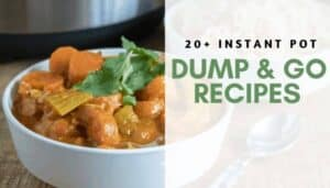 Easy Instant Pot Dump & Go Recipes