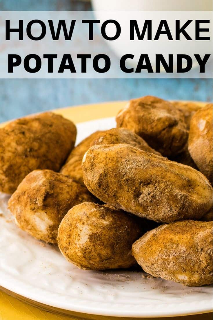 How to Make Potato Candy graphic