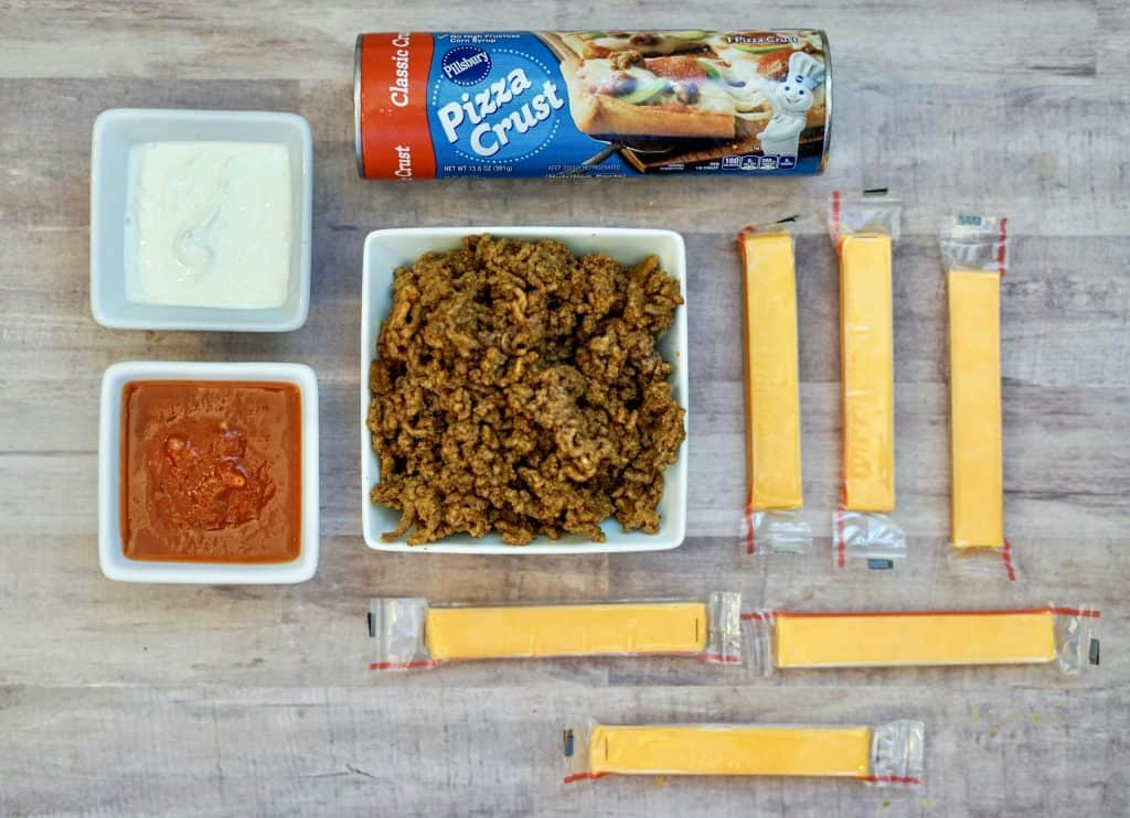 taco roll up ingredients