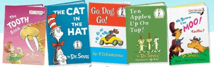 Grab these Dr. Seuss books on this low price.