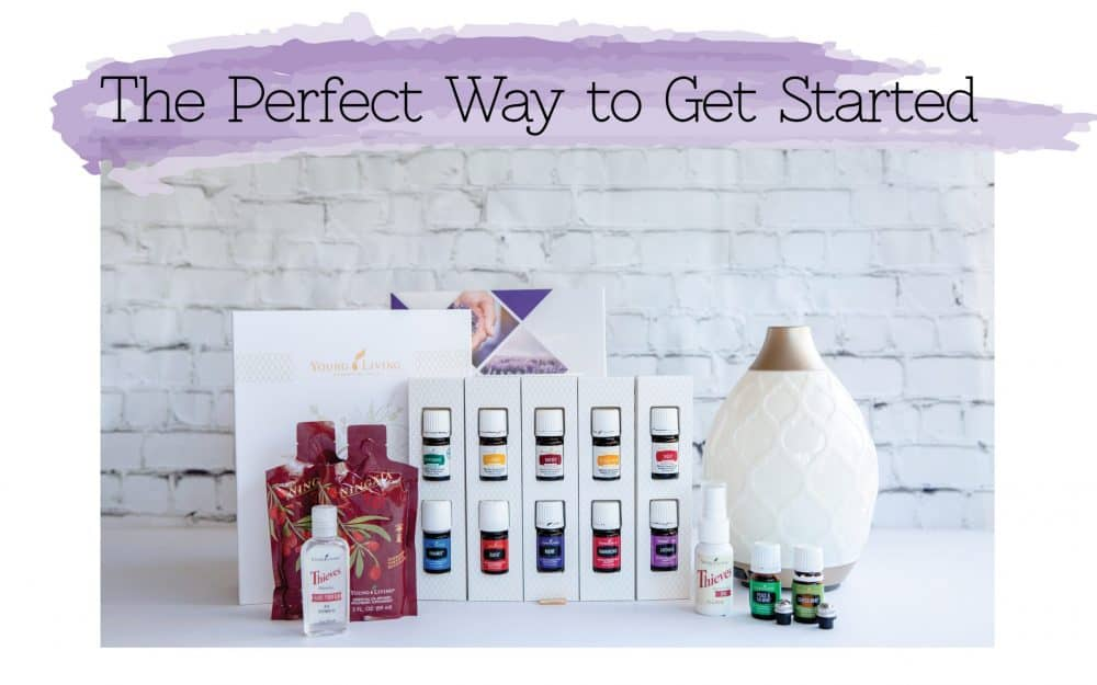 The essential oils premium starter kit.