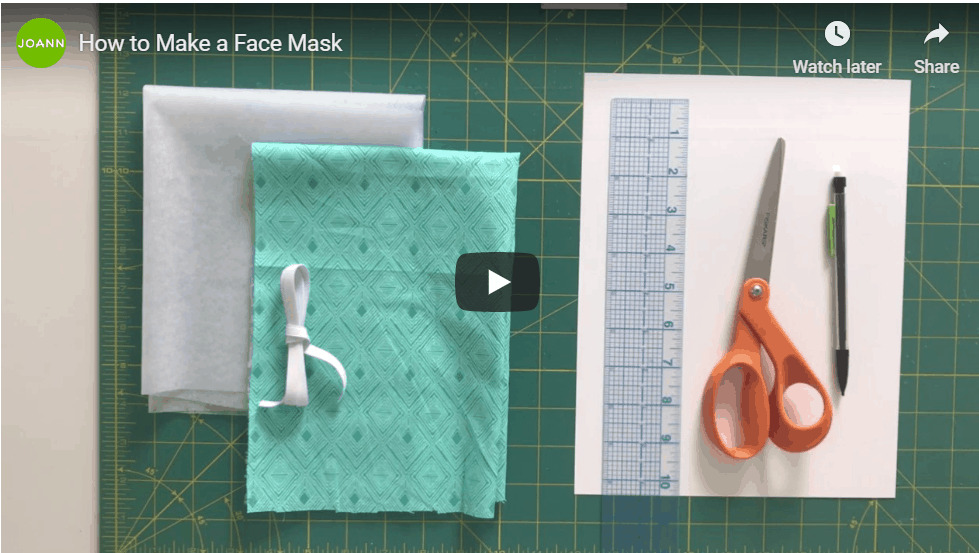 ""\""""How to make a face mask"""" tutorial by Joann fabrics.""979|553|?|en|2|63a7f555500a8911635885485f8477ff|False|UNLIKELY|0.3698105216026306