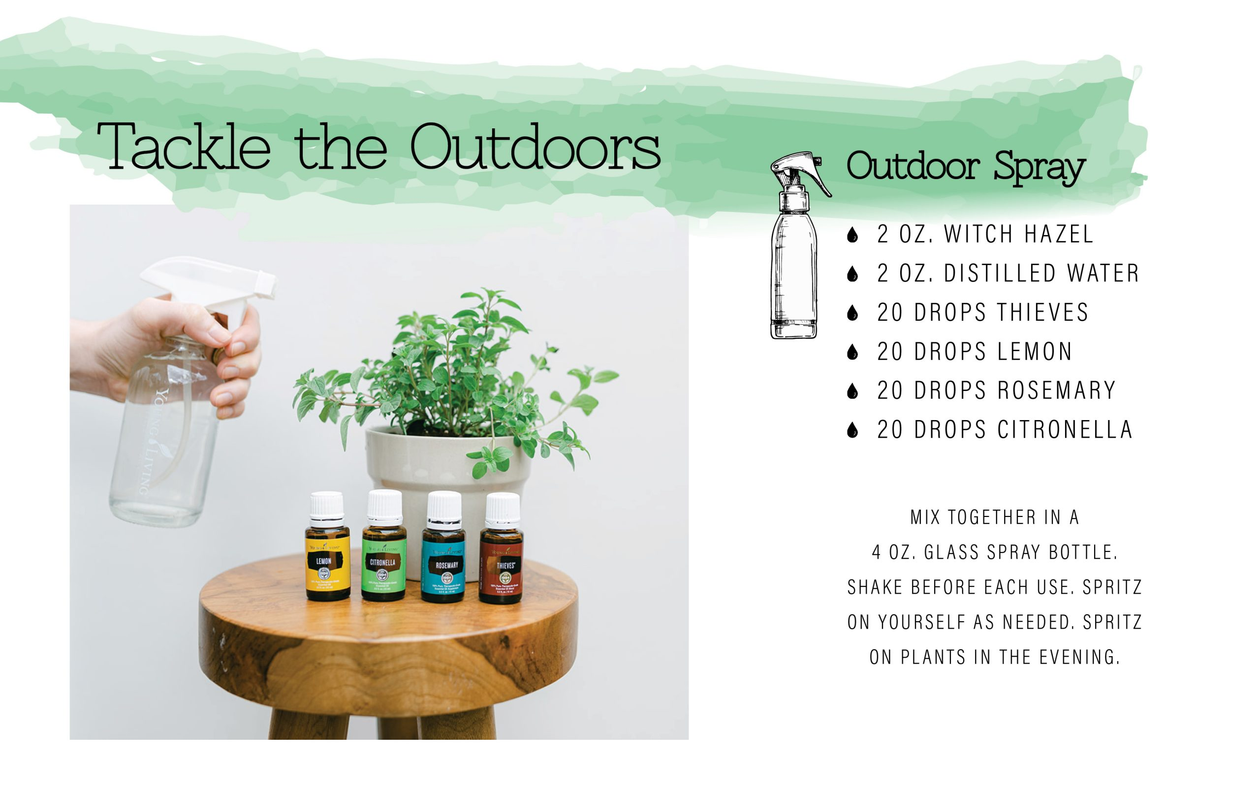 outdoor plant spray
