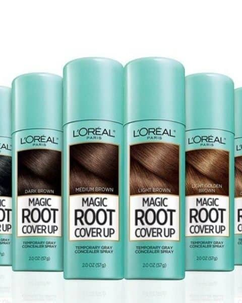 several bottles of Loreal Root Touchup