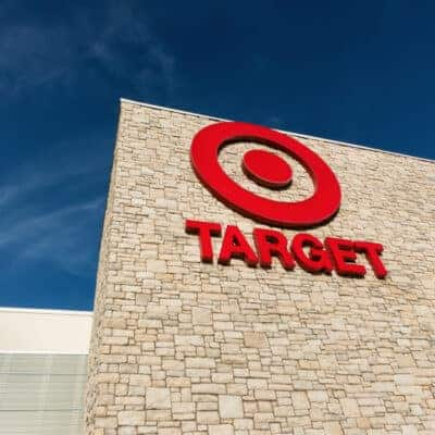 Exterior view of a Target retail store. Target Corporation is an American retailing company headquartered in Minneapolis, Minnesota. It is the second-largest discount retailer in the United States.